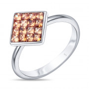925 Sterling Silver women's rings with cubic zircon