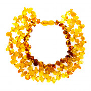 Bijuterii Alloy bracelets with amber
