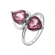 925 Sterling Silver women's rings with rhodolite gt