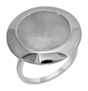 925 Sterling Silver women's rings with coral and carnelian