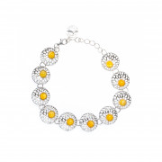 925 Sterling Silver bracelets with amber