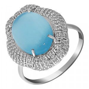 925 Sterling Silver women's rings with cubic zirconia and cubic zircon