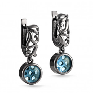 pair earrings with sitall