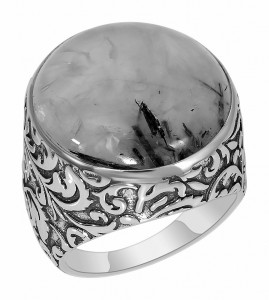 925 Sterling Silver women's rings with moonstone