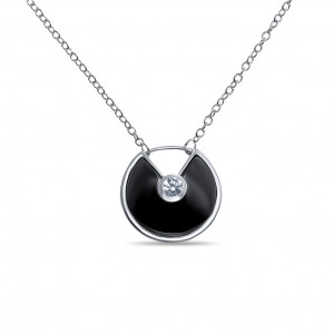 925 Sterling Silver necklaces with ceramics