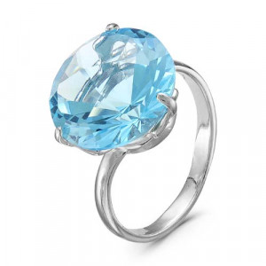 925 Sterling Silver women's rings with quartz and