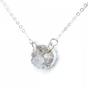 Bijuterii Alloy necklaces with quartz