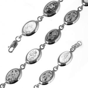 925 Sterling Silver bracelets with  and