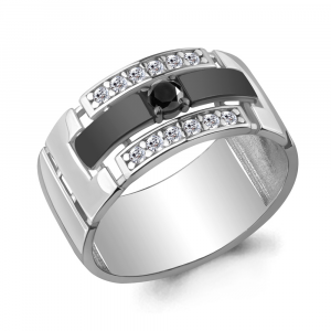 925 Sterling Silver women's rings with nano crystal and cubic zirconia