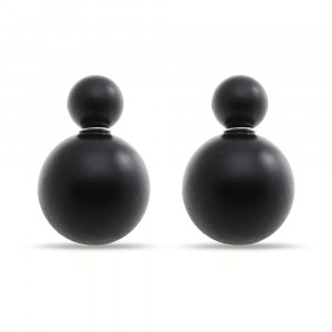 Bijuterii Alloy pair earrings with plastic