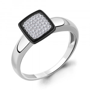 925 Sterling Silver women's rings with  and glass