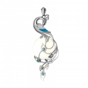 925 Sterling Silver pendants with moonstone