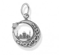 925 Sterling Silver pendants islam with