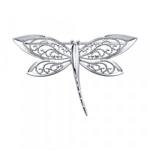 925 Sterling Silver brooches