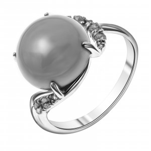 925 Sterling Silver women's rings with alpana and chrysoprase