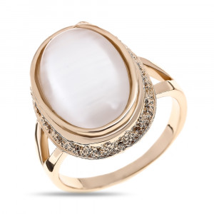 Bijuterii Alloy women's rings with cat's eye