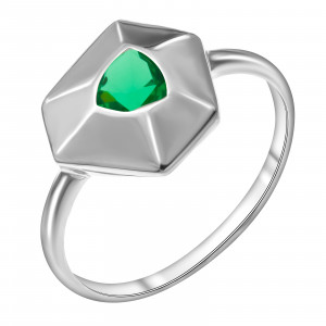 925 Sterling Silver women's rings with crystal