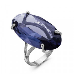 925 Sterling Silver women's rings with sitall