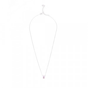 925 Sterling Silver necklaces with ceramics and cubic zirconia