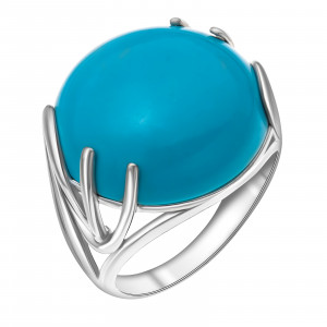 925 Sterling Silver women's rings with prehnite and amazonite