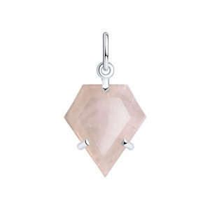 925 Sterling Silver pendants with quartz