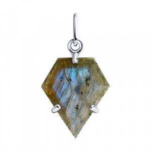 925 Sterling Silver pendants with labradorite