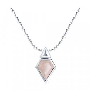 925 Sterling Silver necklaces with quartz