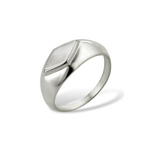 925 Sterling Silver women's rings with mother of pearl