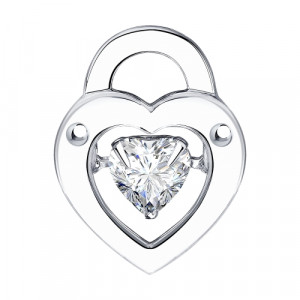 925 Sterling Silver pendants with cubic zirconia swarovski