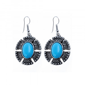 Bijuterii Alloy pair earrings with resin