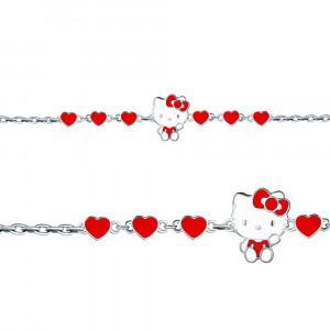 925 Sterling Silver bracelets with enamel