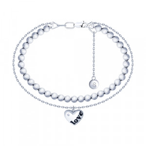 925 Sterling Silver bracelets with enamel and cubic zirconia