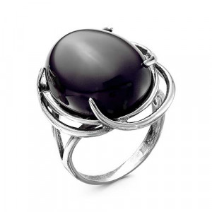 925 Sterling Silver women's rings with  and synthetic agate