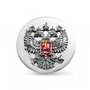 925 Sterling Silver badge