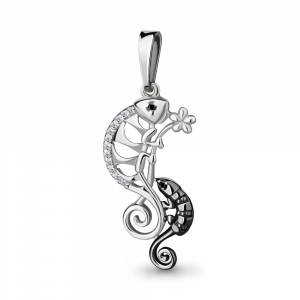 925 Sterling Silver pendants with nano crystal