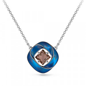 925 Sterling Silver necklaces with sitall