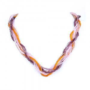 - beads with crystal
