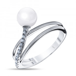925 Sterling Silver women's rings with mallorca and cubic zirconia