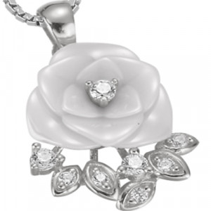 925 Sterling Silver pendants with ceramics and cubic zirconia