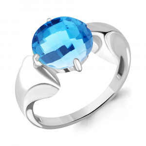 925 Sterling Silver women's rings with nano topaz