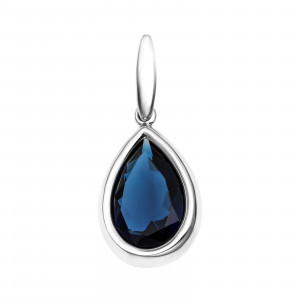 925 Sterling Silver pendants with synthetic quartz