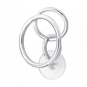 925 Sterling Silver one ear earring