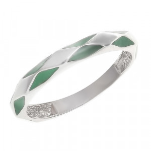 925 Sterling Silver women's rings with enamel