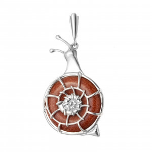 925 Sterling Silver pendants with aventurine