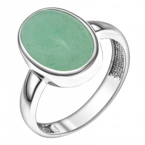 925 Sterling Silver women's rings with quartz