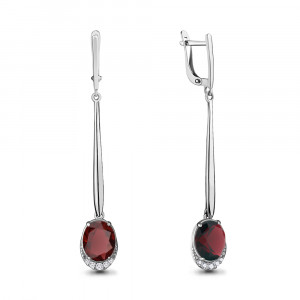 925 Sterling Silver pair earrings with nano grenades