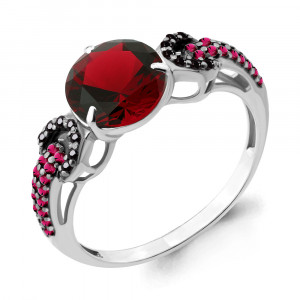 925 Sterling Silver women's rings with nano crystal and nano-tourmaline