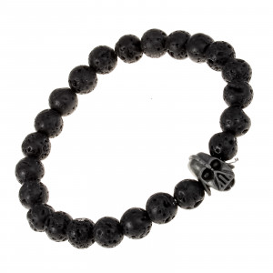 Bijuterii Alloy bracelets with nylon and glass
