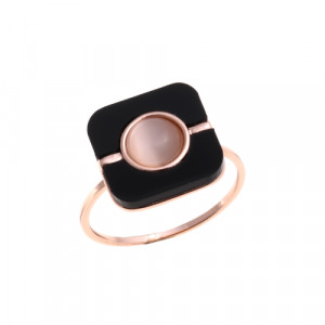 Bijuterii Alloy women's ring with cat's eye