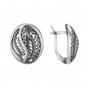 925 Sterling Silver pair earrings
